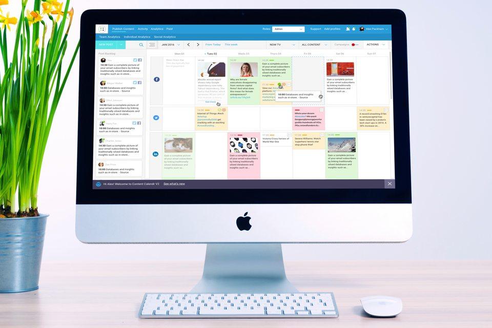 ContentCal Interface