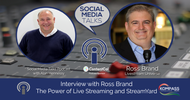 Ross Brand Livestream Universe Social Media Talks Guest