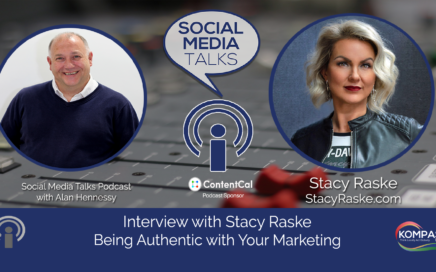 Social Media Talks Podcast interview with Stacy Raske Being Authentic with Your Marketing